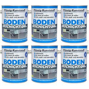 5L Wilckens Bodenbeschichtung Flüssig Kunststoff Farbe Betonfarbe Bodenfarbe