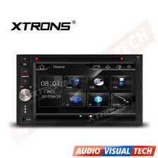 "XTRONS 6.2"" Touch Screen Double 2 DIN In Dash Car CD DVD Player Bluetooth MP3"