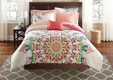 Comforter Set Medallion King Size Bed in a Bag Complete Bedding Set 8 Pcs New