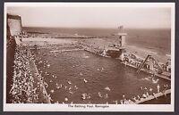 Postcard Ramsgate Kent view of The Bathing Pool swimming RP