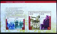 2000 AUSTRALIA TOWARDS FEDERATION MINI SHEET **MUH**!!!!!!!!