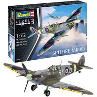REVELL Supermarine Spitfire Mk.Vb 1:72 Aircraft Model Kit 03897