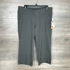Oh Baby By Motherhood Maternity Women's Size Medium Capris Pants Gray NEW