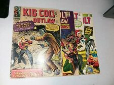 Kid Colt Outlaw 4 Issue marvel western Silver Bronze Age Comics Lot Collection