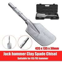 Electric Jackhammer Breaker Square-Tipped Clay Spade Chisel Long Handle  Cutter
