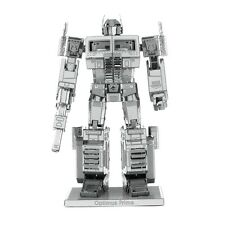 Fascinations Metal Earth Transformers Optimus Prime 3D Laser Cut Steel Model Kit