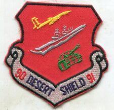 1990-91 Desert Shield Plane Ship Tank Patch