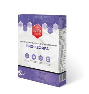 Bio-Kefir Formula 40 порций кошерной закваски для домашнего биокефир 10 упаковок