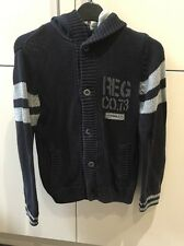 Boys Timberland Cardigan Age 10 Navy Good Condition
