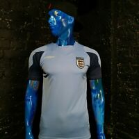 England Team Training Football Jersey Blue Umbro Mens Size M
