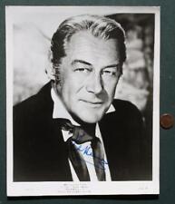 British Star Rex Harrison autographed 1967 Dr.Doolittle movie photo-UNCOMMON!
