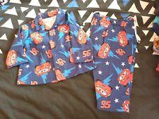 Boys new gorgeous all flannel DISNEY CARS pj set size 00