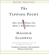 New 8 CD Tipping Point Malcolm Gladwell