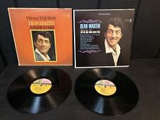 Lot Of 2 Vintage Mid Century Dean Martin Lp Record Albums -Reprise Records