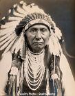 "Chief Joseph Nez Perce 8.5x11"" Photo Print, Edward S Curtis Native American USA"