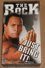 WWF - The Rock: Just Bring It (VHS, 2002) WWE Sport Wrestling BRAND NEW