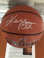 KOBE BRYANT AUTHENTIC Signed Full Size Spalding Basketball PSA/DNA Letter