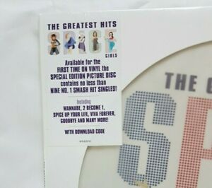 PICTURE LP NEUF ! New Limited ! ♦ SPICE GIRLS : GREATEST HITS (+ web code)