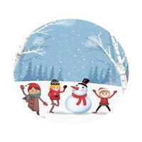 Tovaglia Rotonda Decorativa Per Tavolo Da Pranzo Di Natale Da 47 Pollici