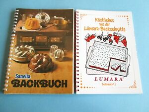 2 Backbücher (Ringbuch): Köstliches aus der Lumara-Backschnitte Nr.3 + Sanella