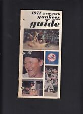 New York Yankees 1971 Vintage Press-Media Guide