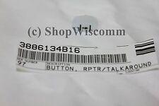 Motorola OEM CDM Button RPTR/Talkaround Icon 3886134B16 CDM750 CDM1250 CDM1550