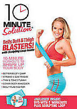 The 10 Minute Solution - Belly, Butt And Thigh Blasters DVD NEW FREE UK POST