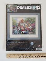 Dimensions THE COTTAGE MILL Needlepoint Partial Kit- Thomas Kinkade Style Canvas