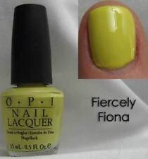 NEW! OPI Nail Polish Vernis FIERCELY FIONA ~ SHREK COLLECTION