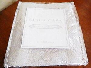 Sferra Linea Casa Vintage Collection STANDARD Matelasse Pillow Sham BEIGE - NEW!