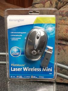 Kensington PilotMouse Laser Wireless Mini Mouse Brand New Sealed Orig. Packaging