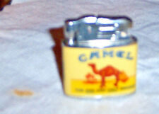Camel advertising fluid lighter with a Camel on the front and back and the words