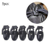 5 PCS MOLLE EDC Multi Backpack Button Adapter Webbing Hook Buckle Carabiner FO