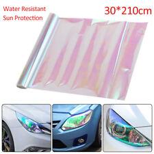 30X210 Cm Chameleon Clear Tail Tint Car Van Fog Light Headlight Vinyl Film