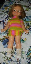"Vintage 1967 Ideal 18"" Giggles Doll Original clothes"
