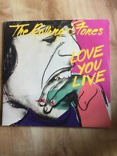 The Rolling Stones Love You Live - German Double Lp
