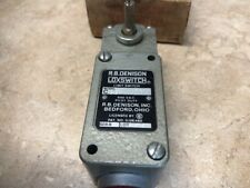 RB DENISON C2B-JD01 LOXSWITCH LIMIT SWITCH 600 VOLT New in the Box