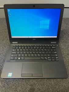 Dell Latitude E7270 Intel i5-6300U @ 2.4GHz 8G DDR4 RAM 256G SSD Win10