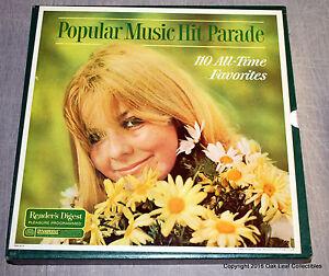 9 Album Box Set: Readers Digest Popular Music Hit Parade