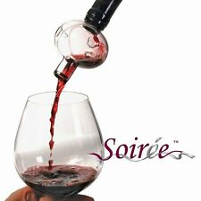 Soiree bottle-top Wine Decanter & Aerator with Stand Gift Boxed