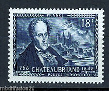 1948 - TIMBRE FRANCE//NEUF -CHATEAUBRIANT - CHATEAU DE COMBOURG - STAMP Y/t.816