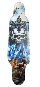 "31"" X 8"" Short Longboard Skateboard Mini Cruiser Concave Carving Deck 8ply Maple"