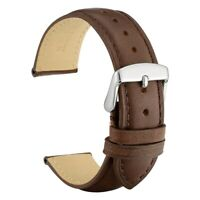 WOCCI Vintage Leather Watch Band, 16mm 18mm 19mm 20mm 21mm 22mm Wristwatch Strap
