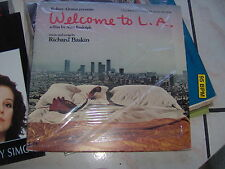 "LP 12"" OST WELCOME TO L.A. RICHARD BASKIN KEITH CARRADINE + INNER SLEEVE N/MINT"