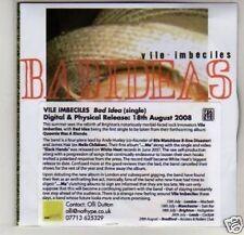 (K328) Vile Imbeciles, Bad Ideas - DJ CD