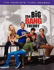 The Big Bang Theory: The Complete Third Season (DVD, 2010, 3-Disc Set)-BOX SET
