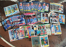 (89) Assorted Dave Stieb Trading Cards 1982-93 (32 different cards)