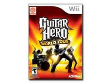 Guitar Hero: World Tour (Nintendo Wii, 2008) Complete Tested Works