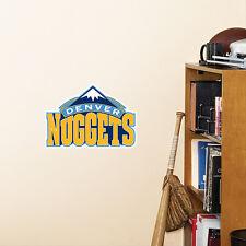 "Denver Nuggets 11""x8"" Fathead Nba Team Logo Teammate Vinyl Wall Graphics Decal"