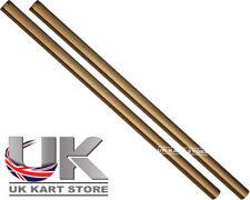 Track / TIRANTE 230mm x M8 cilindrico in oro x 2 uk kart Store
